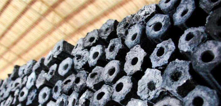 Malaysian Sawdust Briquette Charcoal